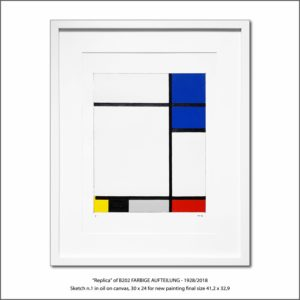 The Disappeared Mondrians Sketches Gallery49 Francesco Visalli Piet Mondrian