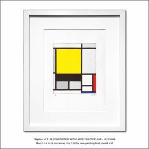 The Disappeared Mondrians Sketches Gallery4 Francesco Visalli Piet Mondrian