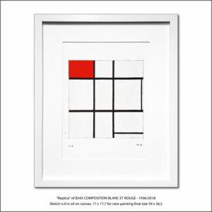 The Disappeared Mondrians Sketches Gallery52 Francesco Visalli Piet Mondrian