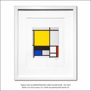 The Disappeared Mondrians Sketches Gallery5 Francesco Visalli Piet Mondrian