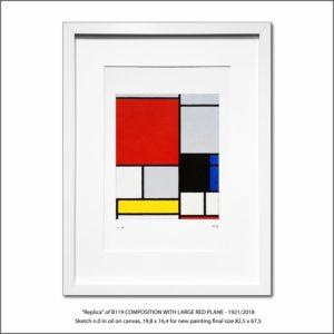 The Disappeared Mondrians Sketches Gallery7 Francesco Visalli Piet Mondrian