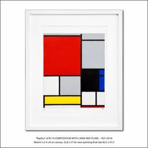 The Disappeared Mondrians Sketches Gallery8 Francesco Visalli Piet Mondrian