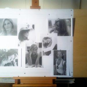 francesco visalli Ritratto di donna photographic composition