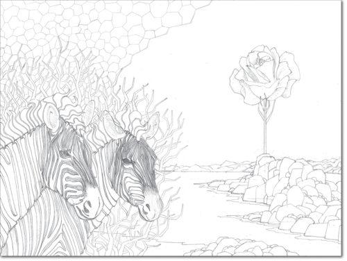 DISEGNO ORIGINALE PER L'OPERA / ORIGINAL DRAWING FOR PAINTING / PER SEMPRE - FOREVER / matita su carta - pencil on paper / 60 x 80 - 2012