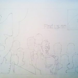 francesco visalli drawing on canvas