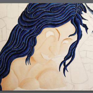 francesco visalli ritratto di donna detail 003