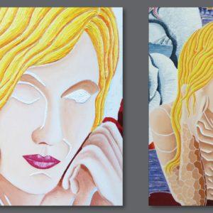 francesco visalli ritratto di donna detail 008