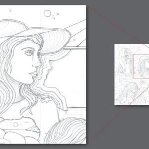 francesco visalli ritratto di donna detail 021