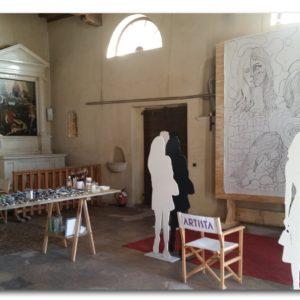 francesco visalli ritratto di donna during execution 001