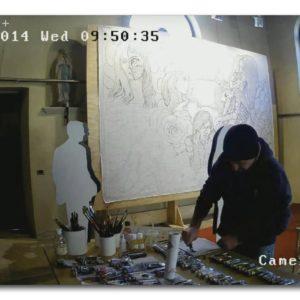francesco visalli ritratto di donna during execution 003