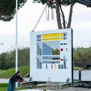francesco visalli inside mondriaan solo exhibition roma 2014 2015 elsa morante 006 piet mondrian