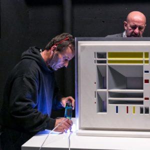 francesco visalli inside mondriaan solo exhibition roma 2014 2015 elsa morante 014 piet mondrian