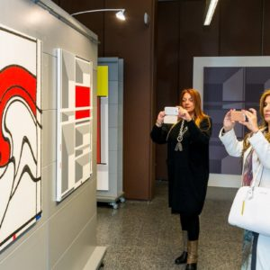 francesco visalli inside mondriaan solo exhibition roma 2014 2015 elsa morante 040 piet mondrian