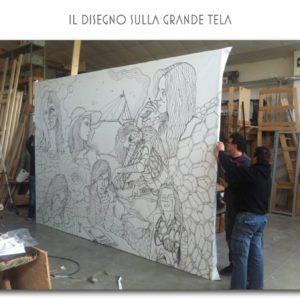 francesco visalli live painting 2014 2015 008 wislawa szymborska