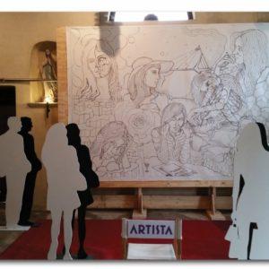 francesco visalli live painting 2014 2015 013 wislawa szymborska