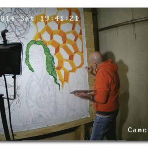francesco visalli live painting 2014 2015 017 wislawa szymborska