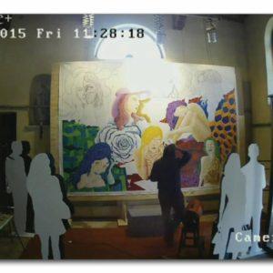 francesco visalli live painting 2014 2015 021 wislawa szymborska