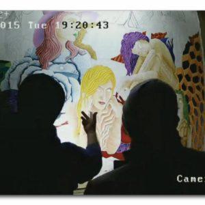 francesco visalli live painting 2014 2015 022 wislawa szymborska