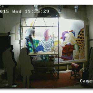 francesco visalli live painting 2014 2015 023 wislawa szymborska