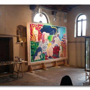 francesco visalli live painting 2014 2015 028 wislawa szymborska