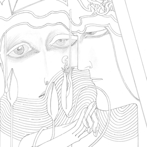 francesco visalli img disegno progetto jan toorop DESIRE AND SATISFACTION