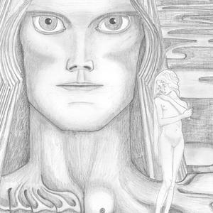 francesco visalli img disegno progetto jan toorop illustrazione per la seconda stampa del libro psyche di louis couperos