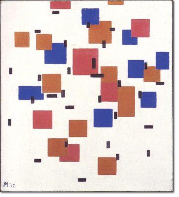 01 - b84 /  Composizione in colore a - 1917
