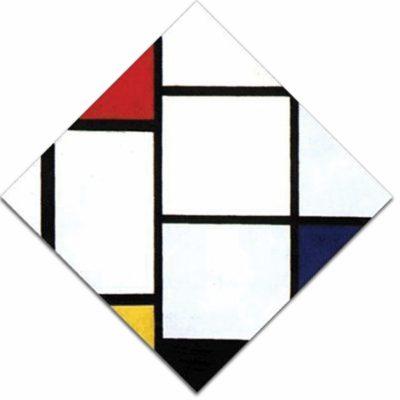 16 - B156 /  losanga con rosso giallo e blu / 1924 - 1925
