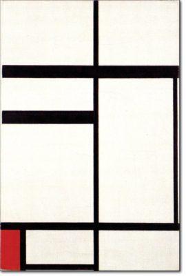 21 - B226 /  composizione con rosso nero e bianco - 1931