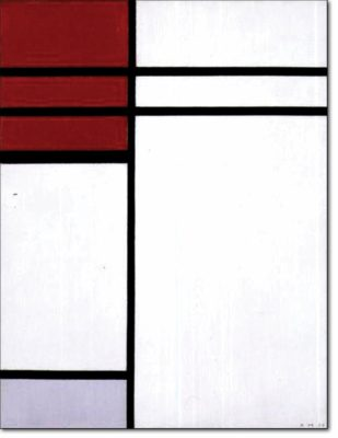 26 - B262 /  composizione con rosso - 1936