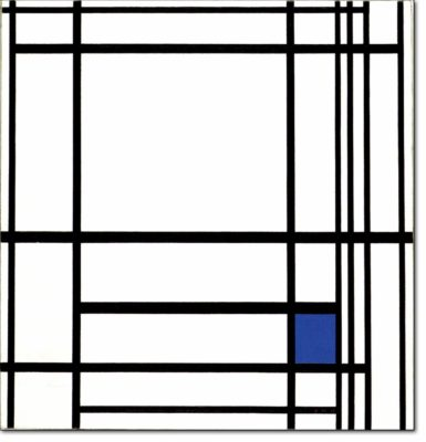 32 - B277 /  composizione con blu - 1937
