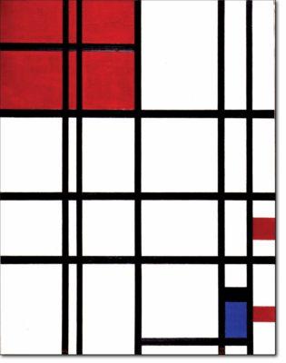 38 - B312 /  composizione con rosso e blu - 1937 / 1942