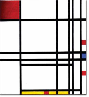 40 - B315 /  composizione con rosso blu e giallo - 1939(?) / 1942