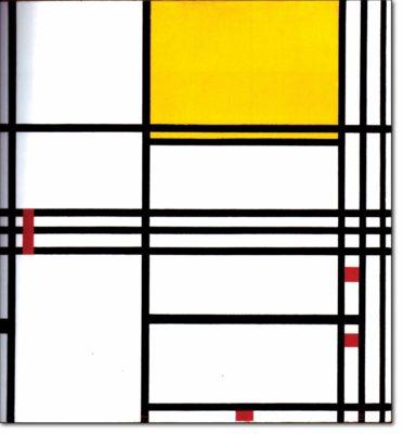 41 - B316 /  composizione in giallo e rosso - 1938 / 1942