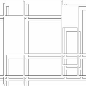 francesco visalli inside mondriaan project B114 disegno 2 piet mondrian