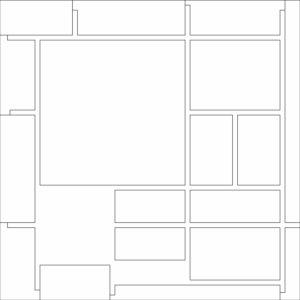 francesco visalli inside mondriaan project B130 disegno 1 piet mondrian
