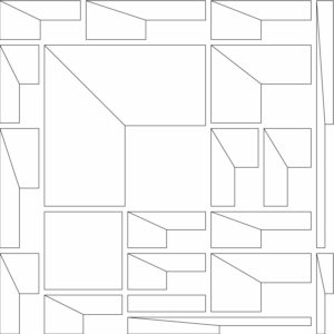 francesco visalli inside mondriaan project B130 disegno 4 piet mondrian