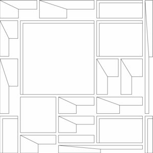 francesco visalli inside mondriaan project B130 disegno 5 piet mondrian