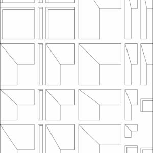 francesco visalli inside mondriaan project B312 disegno 4 piet mondrian