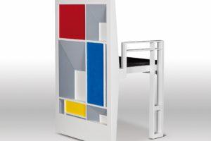 francesco visalli inside mondriaan design The chair 4 piet mondrian