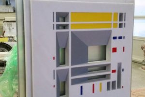 francesco visalli inside mondriaan making sculture luminose 07 piet mondrian