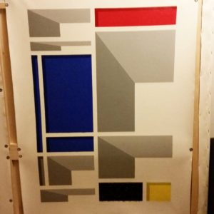 francesco visalli inside mondriaan photogallery paintings in execution 012 piet mondrian