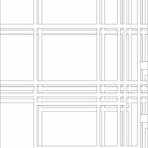 francesco visalli inside mondriaan project B315 disegno 2 piet mondrian