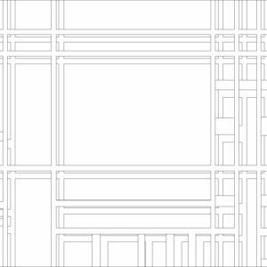 francesco visalli inside mondriaan project B321 disegno 2 piet mondrian