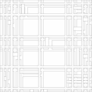 francesco visalli inside mondriaan project B367 disegno 2 piet mondrian