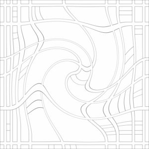 francesco visalli inside mondriaan project B367 disegno 3 piet mondrian