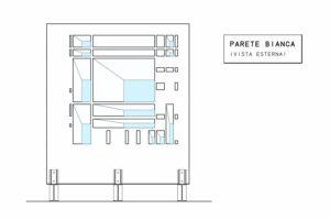 francesco visalli inside mondriaan project monolite bifronte B321 P parete bianca piet mondrian