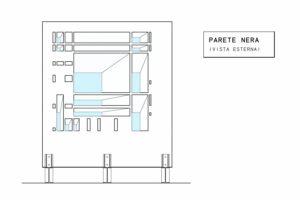 francesco visalli inside mondriaan project monolite bifronte B321 P parete nera piet mondrian