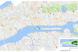 francesco visalli inside mondriaan the monolith big biside NEW YORK BIG2 Planimetria localizzazione piet mondrian