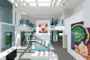francesco visalli inside mondriaan Sculpture House 11 interni FRONT piet mondrian